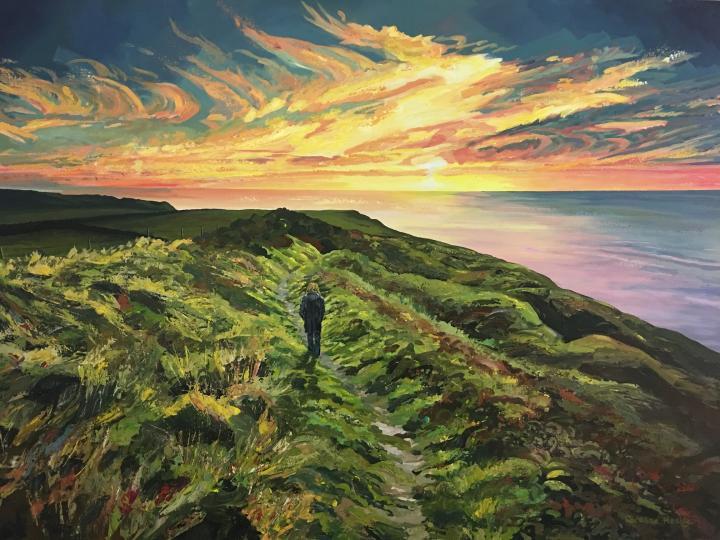 Healey_Ocean Sunset sm
